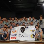 Equipe formada por alunos do ITA subiu ao pódio três vezes